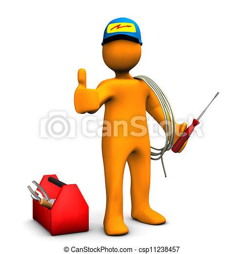 Electrician OK - csp11238457