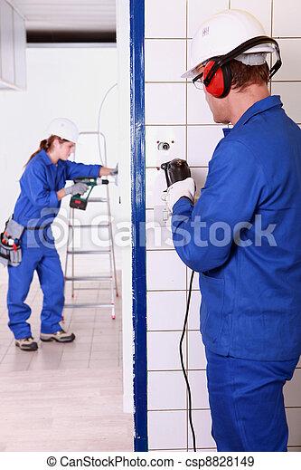 electrician - csp8828149