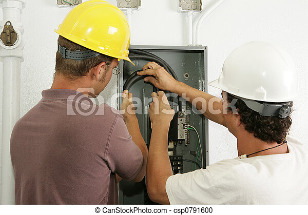 Electricians Install Panel - csp0791600