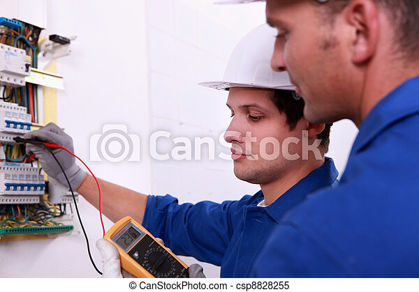 Electricians - csp8828255