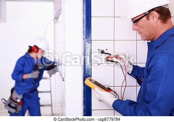 Electricians - csp8779784