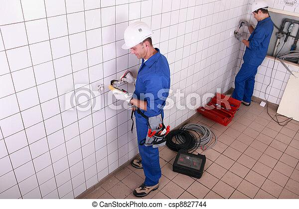 Electricians - csp8827744