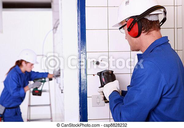 Electricians - csp8828232