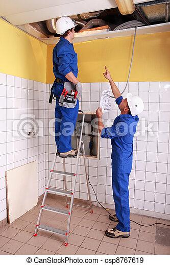 Electricians - csp8767619