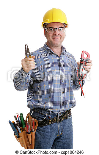 Electricians Tools - csp1064246
