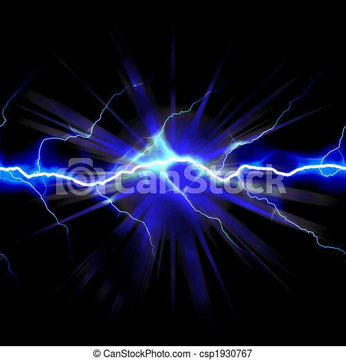 Escalofriante electricidad - csp1930767