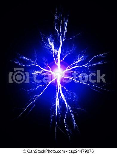 electricidad, puro, potencia - csp24479076
