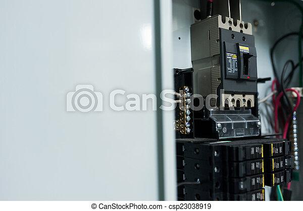 Electricity Circuit Breakers Fuse Box Square D Breaker Graphic