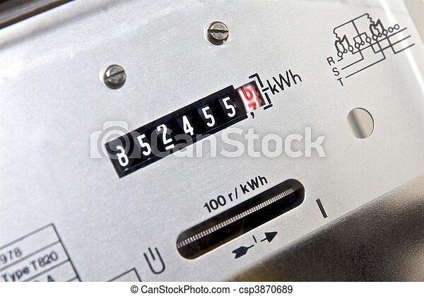 Electricity meter - csp3870689