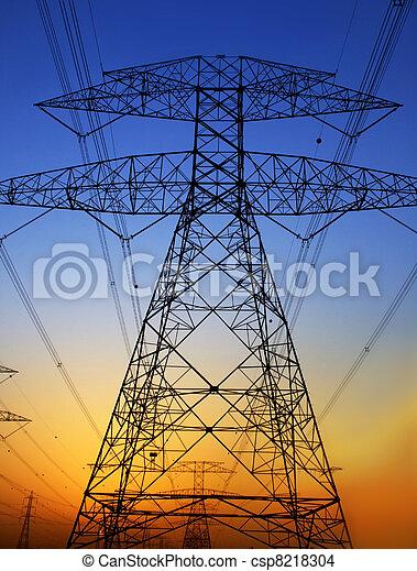 Electricity Pylon - csp8218304