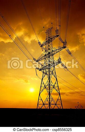 Electricity - csp8556325