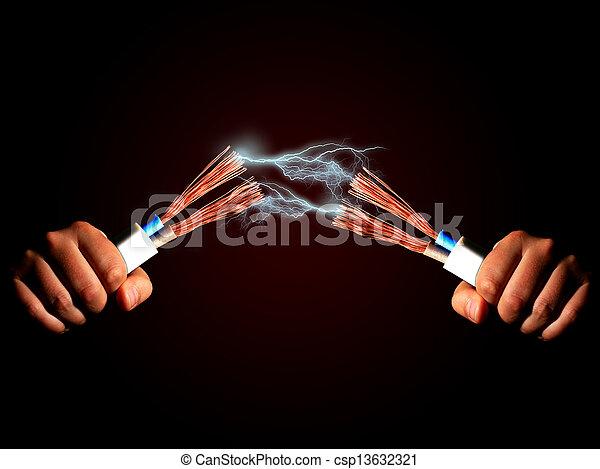 Electricity. - csp13632321