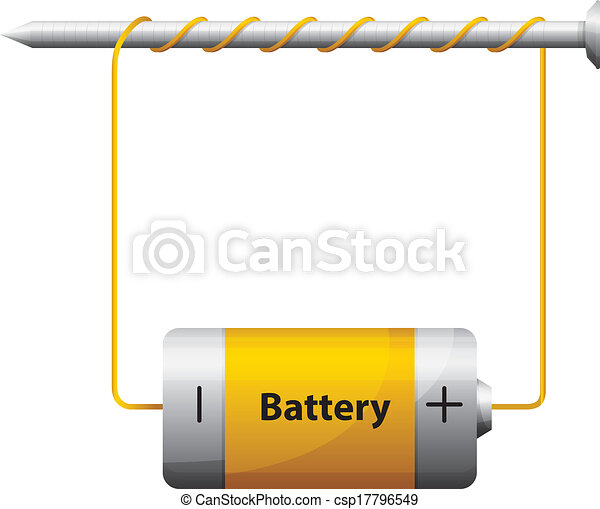 Electromagnet - csp17796549