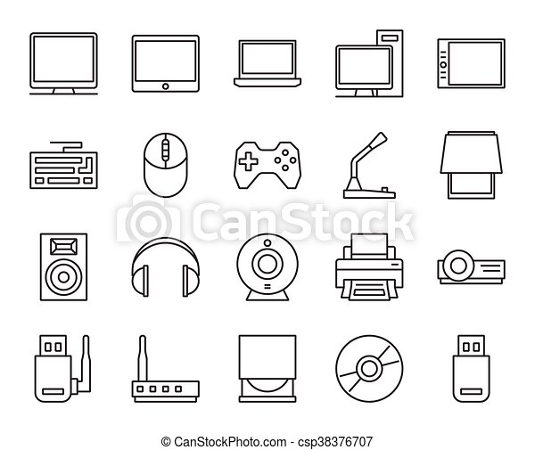 Input, output and storage of information. electronic and ...