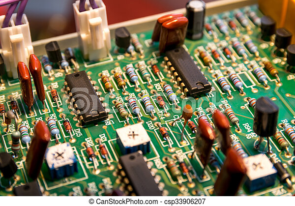 Electronic board. - csp33906207