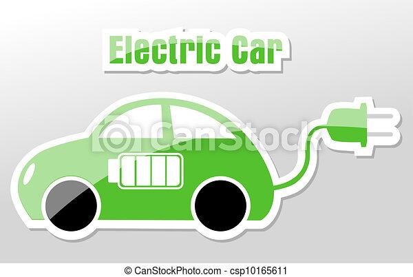 Electronic car - csp10165611