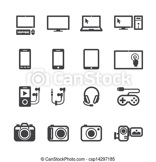 Electronic Devices Icons - csp14297185