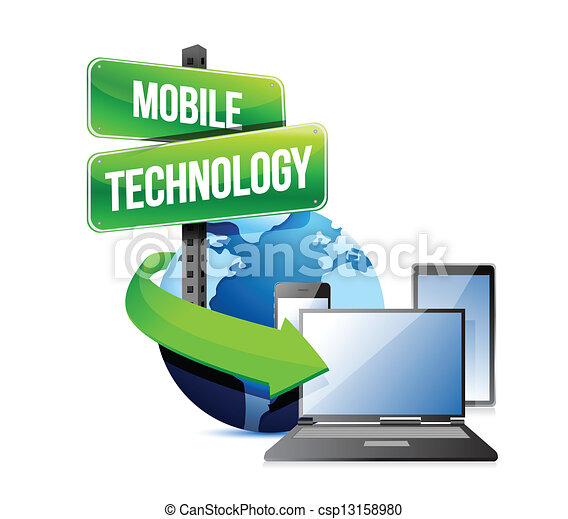 Electronic devices mobile technology - csp13158980