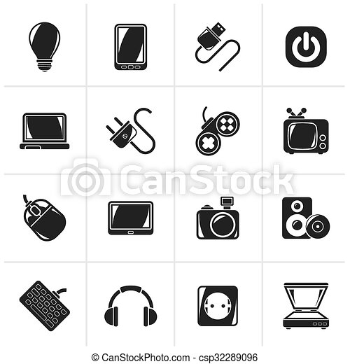 Electronic Devices objects icons - csp32289096