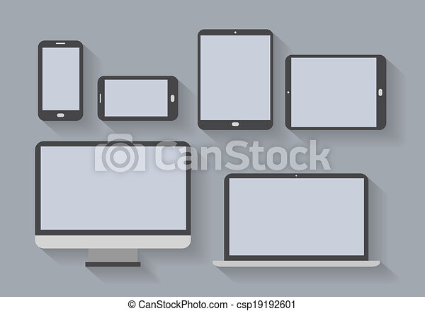 electronic devices with blank screens - csp19192601