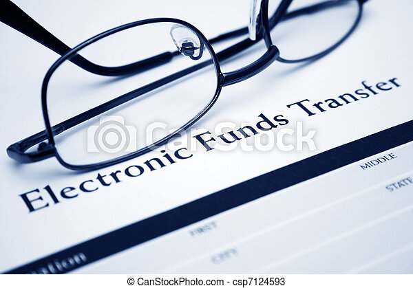 Electronic funds transfer - csp7124593