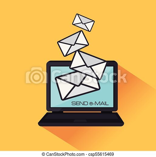 electronic mail marketing icon vector illustration design clip art rh canstockphoto ca marketing clipart images marketing plan clipart