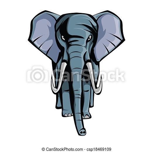 elefant - csp18469109