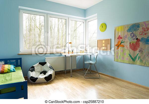 elegáns, szoba, heccel - csp25887210