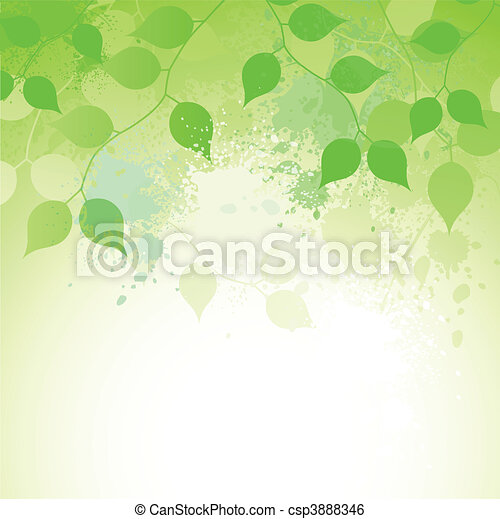 elegância, natureza - csp3888346