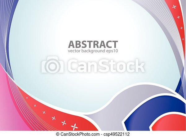 elegant, abstraktes design, hintergrund - csp49522112