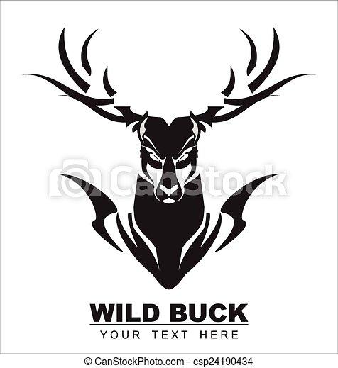 Elegant Black Buck - csp24190434