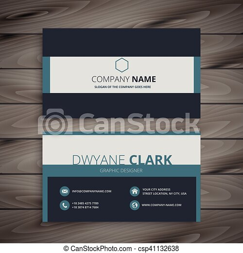 Elegant business card template vectors search clip art elegant business card template csp41132638 flashek Image collections