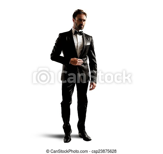 Elegant businessman - csp23875628