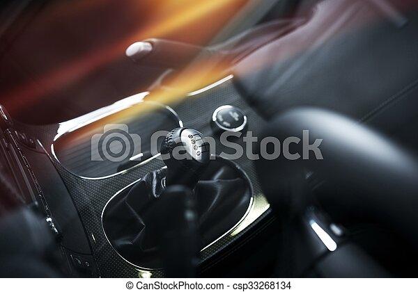 Elegant Car Interior - csp33268134