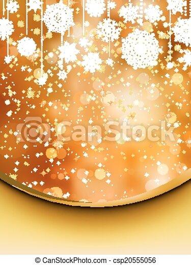 Elegant christmas background. EPS 8 - csp20555056