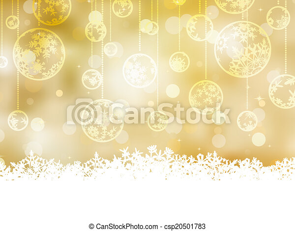 Elegant christmas background. EPS 8 - csp20501783
