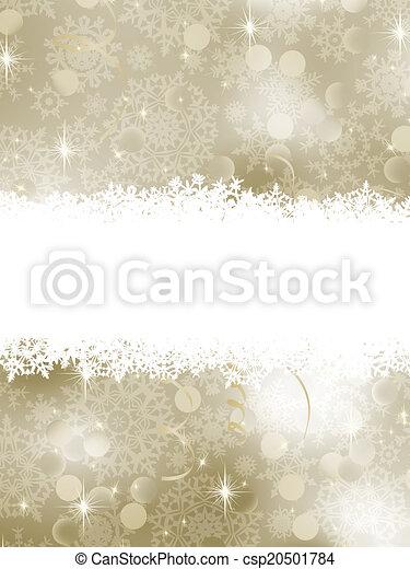 Elegant Christmas Background. EPS 8 - csp20501784