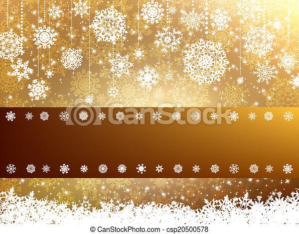 Elegant christmas background. EPS 8 - csp20500578