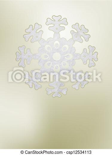 Elegant Christmas background. EPS 8 - csp12534113