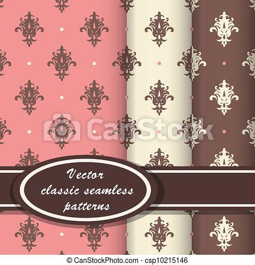 Elegant classic patterns - csp10215146