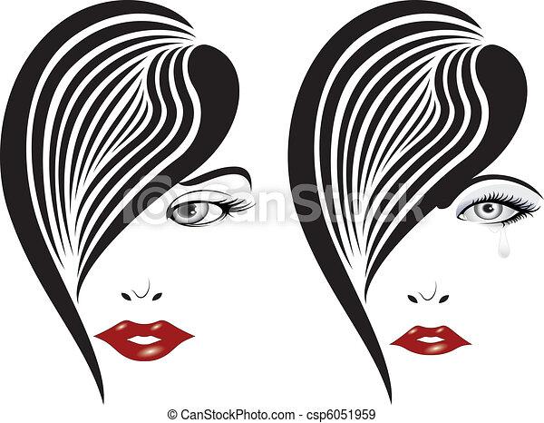Elegant face set 11 - csp6051959