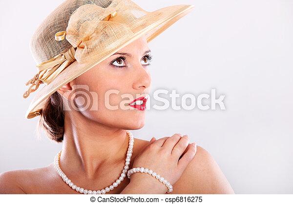 Elegant lady - csp6816275