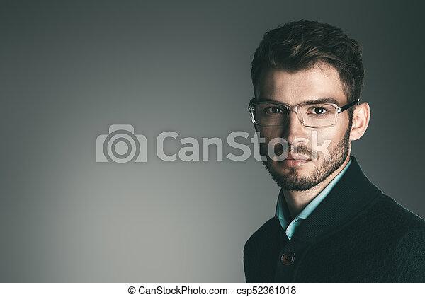 Shop für echte so billig bester Großhändler elegant, mann, brille