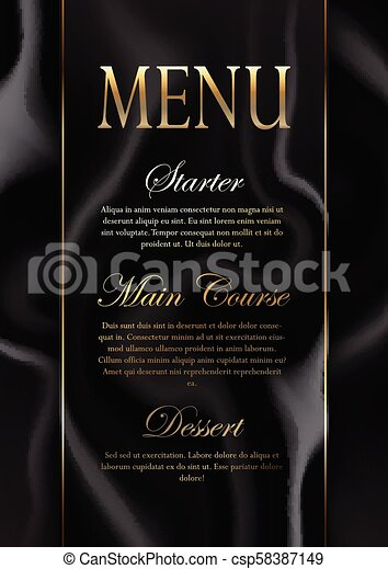 elegant marble texture menu design 1406 elegant menu design with a