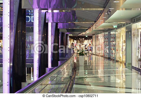 Elegant Shopping Mall - csp10802711