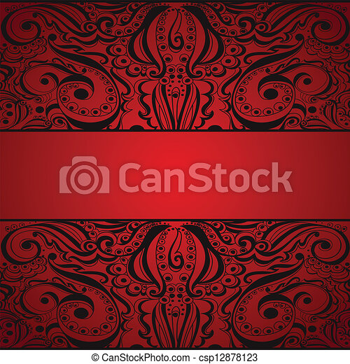 Elegant vintage background. - csp12878123