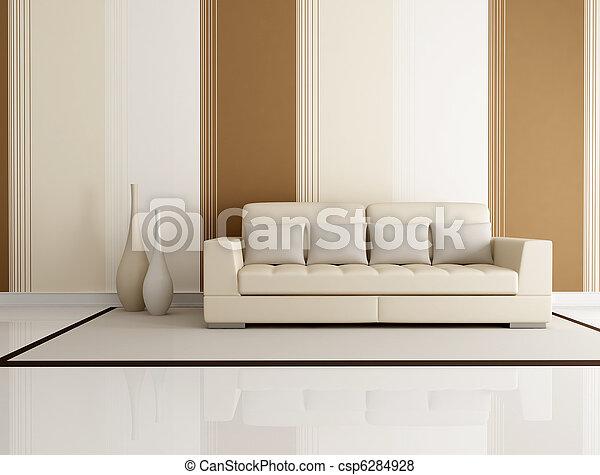 La sala de estar elegante - csp6284928