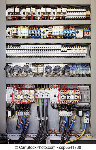 elektrisch, schaltbrett - csp5541738
