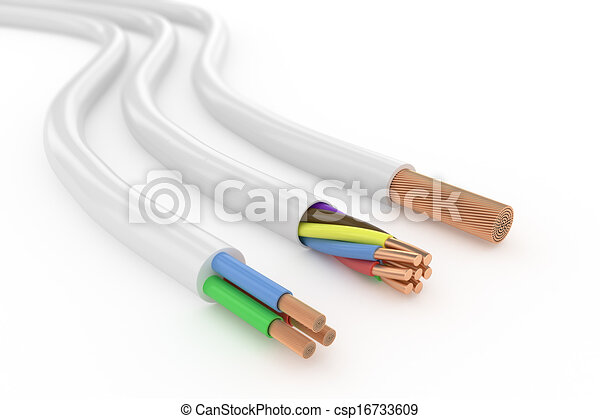 Elektrisches kabel Stock Illustration - Suche Clipart, Zeichnungen ...