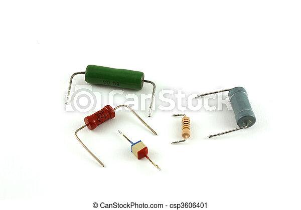elektronisch, -, widerstände, komponenten - csp3606401
